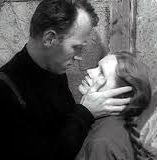 Max von Sydow (Johan Borg) és Liv Ullmann (Alma Borg) a Farkasok órája c. Bergman-filmben