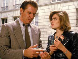Harrison Ford és Emmanuelle Seigner au Őrület c. filmben