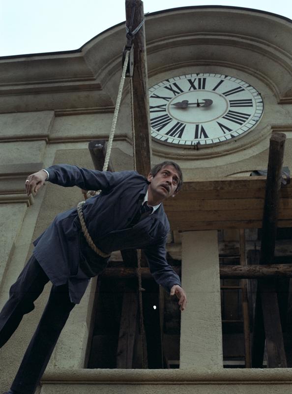 Jordán Tamás a Hány az óra, Vekker úr? c. Bacsó-filmben