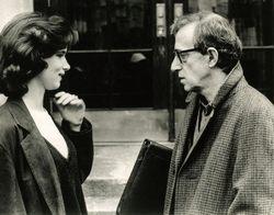 Juliette Lewis és Woody Allen a Férjek és feleségek c. filmben