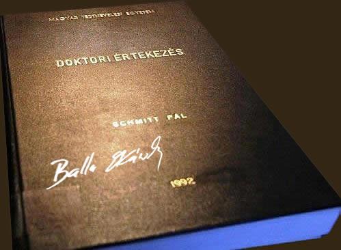 Bestseller by Pál Schmitt