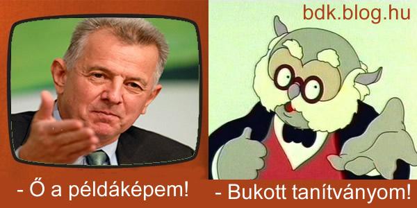 """Schmitt """"Dr.Bubó"""" Pál"""