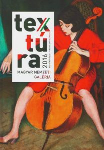 textura 2016 könyv / magyar nemzeti galéria