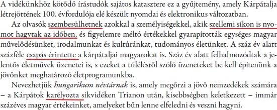 A kárpátaljai magyar művelődési élet jeles személyiségei, 2018