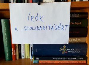 Írók a szolidaritásért - demonstráció