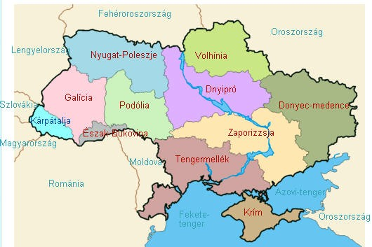 """térkép ukrajna magyarország Az """"ukrán"""" néperedete és állam… térkép ukrajna magyarország"""