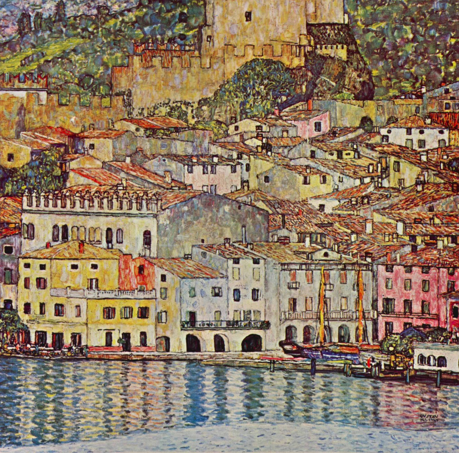 Malcena at the Gardasee by Klimt.jpg