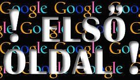 első google-oldal: seo